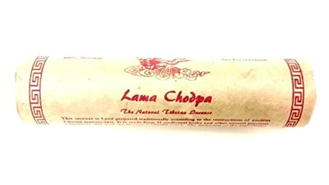 カレンダーファーム対象Lama Chodpa 天然チベットの聖なるお香 リラクゼーション Large Tube - 60 Sticks