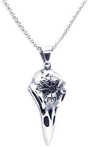 Xianglsp Co.,ltd Diseño Personal águila Esqueleto Colgante 316 Acero Inoxidable Moda Hombre Colgante Collar