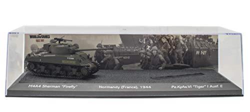 - M4A4 Sherman Firefly 1944 Battle of Normandy France 1944 - Carro Armato Militare 1:72 World of Tanks (OT3)