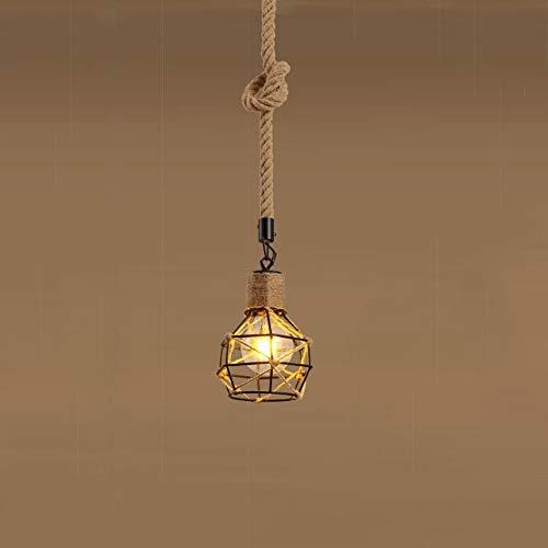 ZAKRLYB. Lampadari in stile country americano, Lampade a sospensione con personalità creative, Plafoniere vintage a forma di lampada, Soggiorno Camera da letto Sala da pranzo Luce a cupola, E27 Lampad