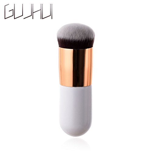niumanery Flat Top Liquid Foundation Brush Powder Kabuki Makeup Brushes Face Make up Tools