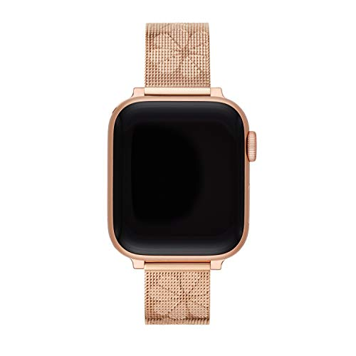 kate spade new york rose gold-tone stainless steel mesh 38/40mm band for Apple Watch