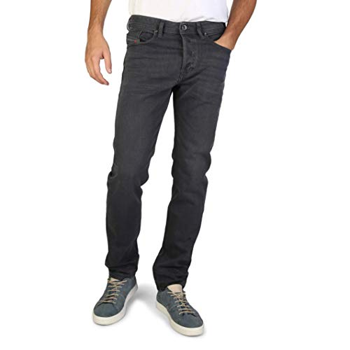 Diesel Herren Jeans Buster 859X Regular Slim Tapered Fit anthrazit (14) 33/32