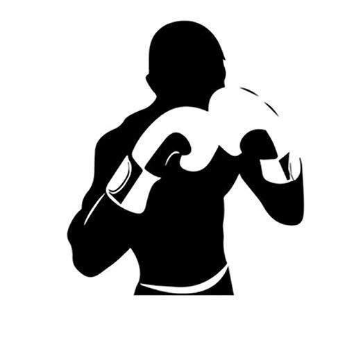 Abnehmbare Boxhandschuhe/Mike Tyson Wandtattoo Sport Boxing Gym Wandaufkleber Wohnheim Club Boxer Fans Dekor Raum Interior Art Wandbild | Boxhandschuhe - 56x60cm
