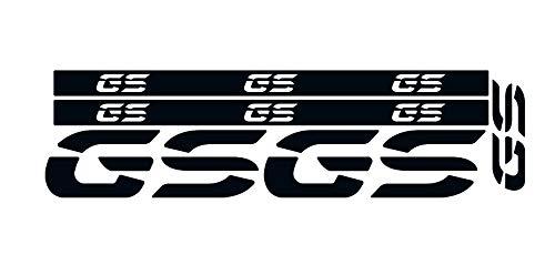KIT ADESIVI RIFRANGENTI R 1200 GS ADV / R 1250 ADV KIT-REF-GS BLACK STYLE
