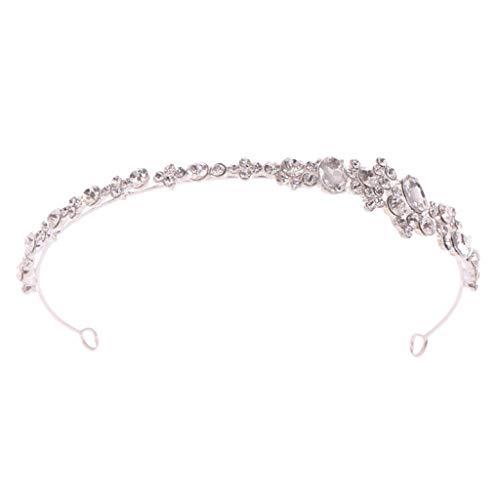 YO-HAPPY, Nuevo y Sencillo, Diadema con Diamantes de imitación para Mujer, Tiara...