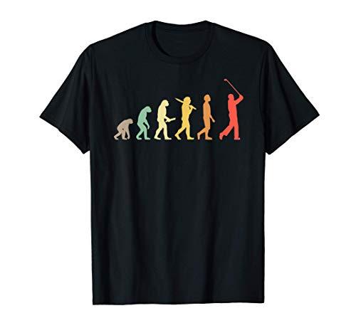 Golf Évolution Rétro Cadeau Pour Golfeurs T-Shirt