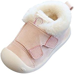 Luckycat Zapatos de bebé, Zapatillas de bebé niño Anti-Slip Suave Suela de Encaje Zapatos Invierno Botas de Nieve de Suela Suave para Recién Nacido niños niña Primeros Pasos