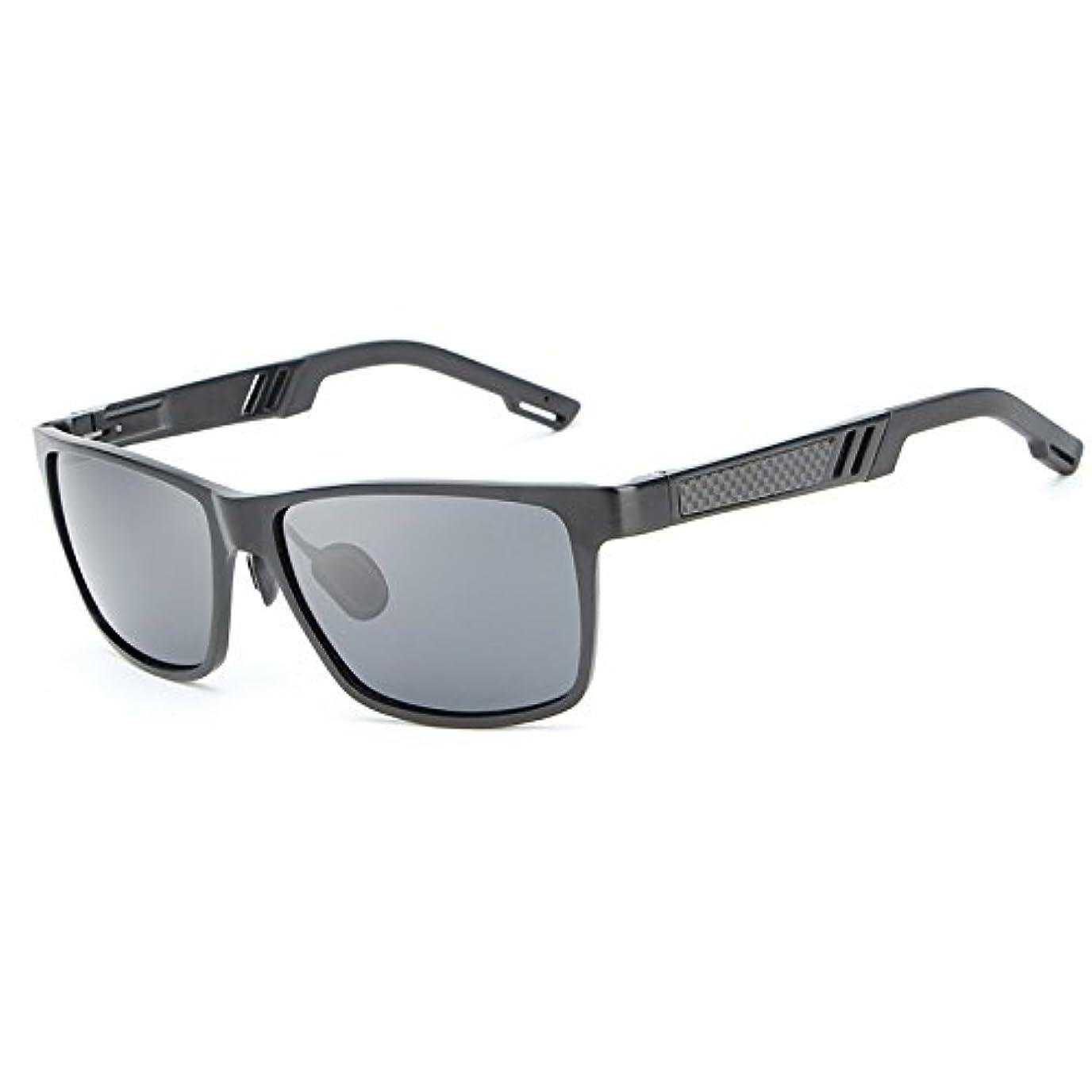形故障分布サングラス 偏光 新しいァッション 釣り運転メンズサングラス 女性アルミニウム - マグネシウム合金フレーム 高強度と, ファッションサングラス
