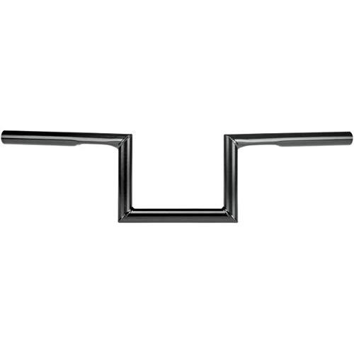 Biltwell HB-ZED-01-BK Black 1' Zed Handlebar (With Dimples, for Factory Harley-Davidson Controls)