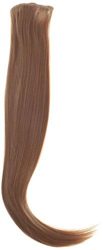 BiYa Hair Elements Thermatt haarverlenging met haarklem voor onmiddellijke bevestiging, glad, Goldblond nr. 22 24/140 g