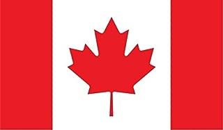 Canada Flag Vinyl Decal Sticker Canadian Car Bumper Window Mari usque ad Mare 5-inch by 3-inch Premium Quality UV Resistant Laminate JMM021