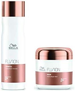Kit Shampoo e Máscara Fusion Wella Professionals