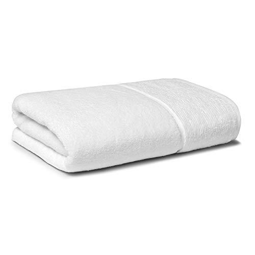 Panda Bamboo Towel (Pure White, Bath Towel)