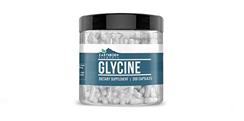 Glycine, (100 Servings), Pure, Non-GMO, Gluten-Free, Lab-Tested, Made in USA, (1290mg Serving)