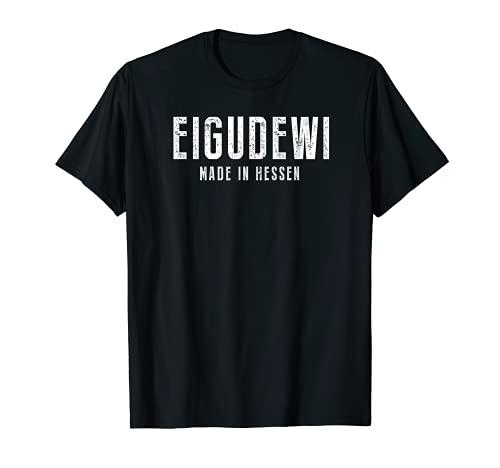 iGude wie Hessen Frankfurt T-Shirt Fan Geschenk