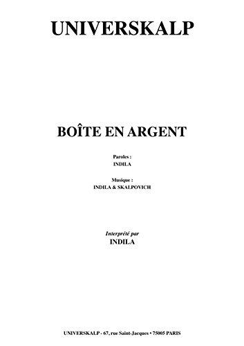 BOÎTE EN ARGENT