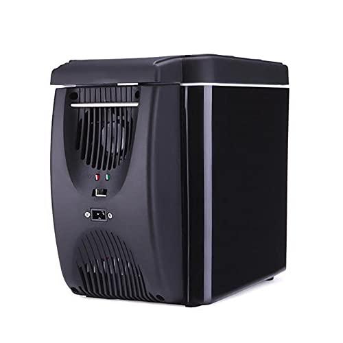 FIONAT 12V 6L Mini nevera coche refrigerador congelador calentador portátil Geladeira para coche Automotivo Ar Condicionado32,5 * 25,5 *18,5 cm