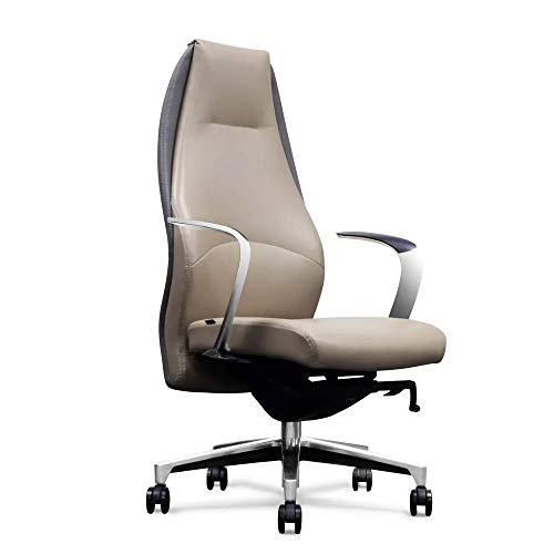 Wrigley Genuine Leather High Back Executive Chair