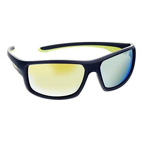 HEAD Herren Sport Sonnenbrille mit UV-400 Schutz 62-16-125-13007, Farbe:Farbe 1
