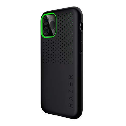 Razer Arctech Pro Black - für Apple iPhone 11 Pro (Schutzhülle mit Thermaphene Perfürmance Technologie, zertifizierter Schutz bei Stürzen, verbesserte Smartphone Kühlung), Schwarz