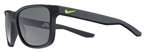 Nike Herren Flip Ev0990 077 53 Sonnenbrille, Schwarz (MttBlckW/GryLns)