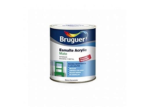 Bruguer 5069889 - Esmalte acrílico mate Acrylic BLANCO