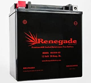 Snowmobile Battery; RG20CH-BS; Polaris 2012, 2013, 2014, 2015, 2016, 2017, 2018 600 INDY / 600 SwitchBack Series / 600 Rush/Rush PRO