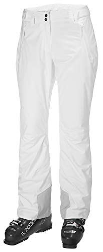 Helly Hansen W Legendary Insulated Pants Pantalones de Esquí, Mujer, Blanco (White), M
