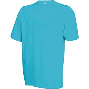 Russell Athletic Men s Cotton T-Shirts Clear Turquoise Small