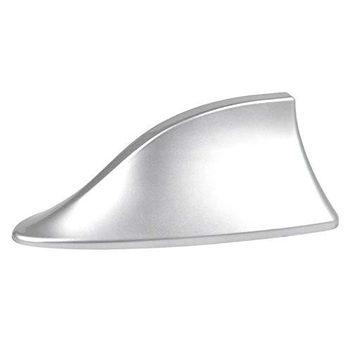 RQTMH Car Señal Antenas De Aleta De Tiburón Antena/Fit For - Citroen/Fit For - Picasso / C1 C2 C3 C4 C5 C4L DS3 DS4 DS5 DS6 Elysee C-Quatre C-Triomphe Antena aérea del Coche (Color : Silver)