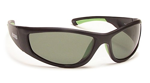 Coyote Eyewear FP-69 Floating Polarized Sunglasses, FFP/Matte Black/G