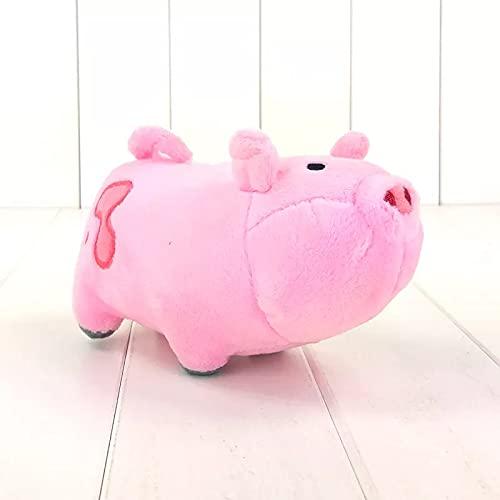 ZZYOU 16 cm / 6,3 Pulgadas Juguetes de Peluche Waddles Cerdo Mascota Lindo Cerdo Rosa muñecos de Peluche Regalo para niños