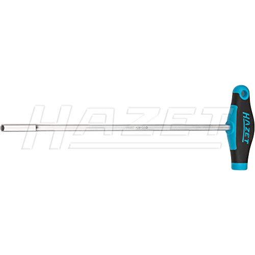 HAZET Radarkopf-Steckschlüssel (Sechskant-Steckschlüssel mit T-Griff, kurze Ausführung) 428-3.5