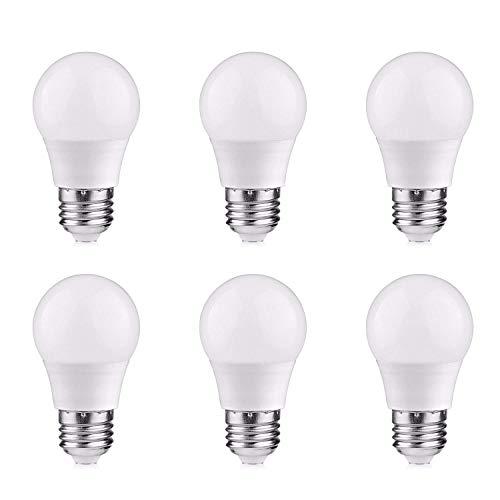 12V Low Voltage LED Light Bulbs - Daylight 7W E26 Standard Base 60W Equivalent - DC Bulb for RV, Solar Panel Project, Boat, Garden Landscape, Off-Grid Lighting, Pack of 2