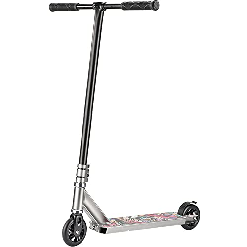 Pro Scooters - Patinete de truco - Avanzado e intermedio y principiante Freestyle Stunt Scooters para altura de 4.3 - 5.9 pies - Duradero, ligero, para adultos Me -Mujeres y Niñas,B