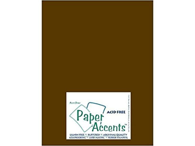 Accent Design Paper Accents Cdstk Smooth 8.5x11 80# Java Bulk