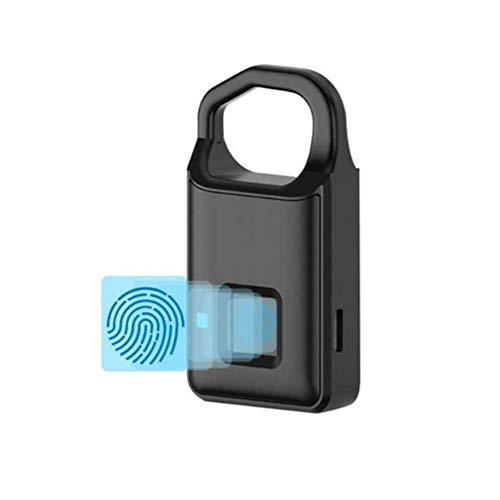 Chao digitaal vingerafdrukslot, smart waterproof, hoge veiligheid, sterk en robuust, kan veelzijdig worden gebruikt in tas, koffer, kast, gymnastiek, slot voor school en fiets, enz.
