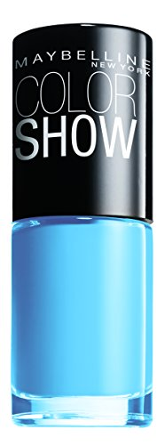 Maybelline Color Show Vernis à ongles Couleur Show Bleu (Maybe Blue)