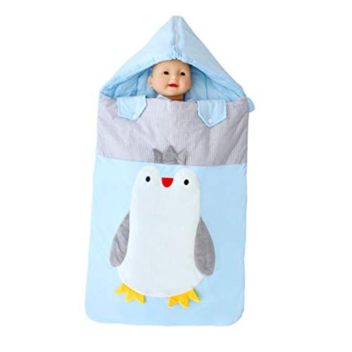 WGXQY dikke katoenen baby slaapzak, pasgeboren vasthouden is uit, karren Anti Tipi, 90 * 48Cm