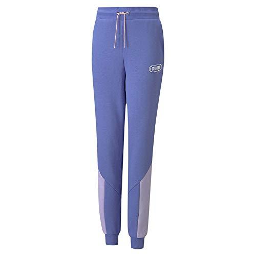 PUMA Mädchen Rebel Sweatpants TR cl G Jogginghose, Hazy Blue, 164