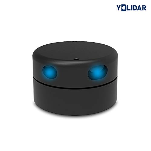 youyeetoo EAI YDLIDAR G2 360 Degree 2D Laser Range Lidar Sensor 12 Meters Scanning Radius for Obstacle Avoidance and Navigation of Robots