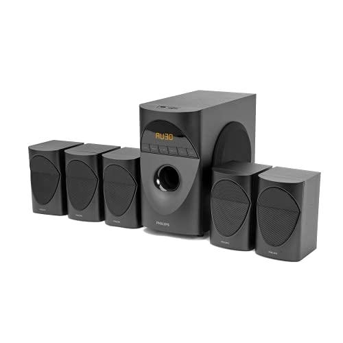 Philips Audio in-SPA 5190B/94 5.1 Channel 90W Multimedia...