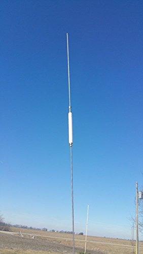 Hustler HQ27 55-Inch Steel Power Packer CB Radio Antenna (White)