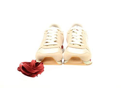 NAPAPIJRI Zapatos Mujer Zapatillas Bajas N0YJT3P77 9SVICKY01 / Mes Pale Pink Nuevo Talla 40 Polvo