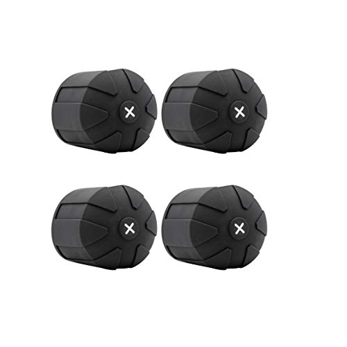 KUVRD Universal Lens Cap 2.0 - Fits 99% DSLR Lenses, Element Proof, Lifetime Coverage, Magnum, 4-Pack