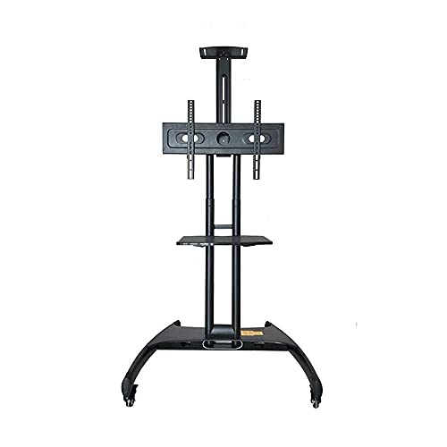 TV Rack Stand Wall Bracket Storage Shelf Station Mobile TV Stand Trolley Cart For 32 70 Inch HDR LED LCD TV Heavy Duty Beautiful Home