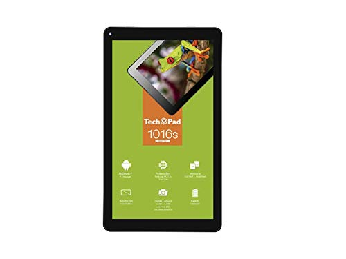Tech Pad Tablet 1016S Pantalla de 10.1″ Resolución 1024 X 600 Pixeles, 16GB Flash / 1GB RAM Android 7.0