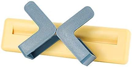 Het Potdekselframe Is Ponsvrij En Verstelbare Keukenopbergruimte Aan De Muur geel