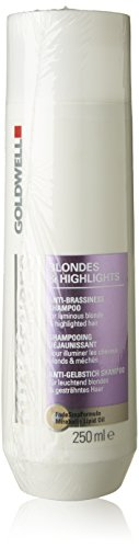 Goldwell Dualsenses Blondes und Highlights Anti-Brassiness Shampoo, (1x 250 ml)